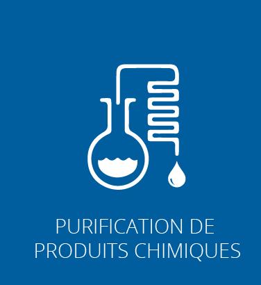 Purification de produits chimiques